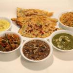 vegetarisches / veganes indisches Essen